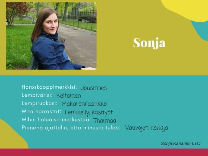 Hiidenkiven päiväkoti Tampere Sonja
