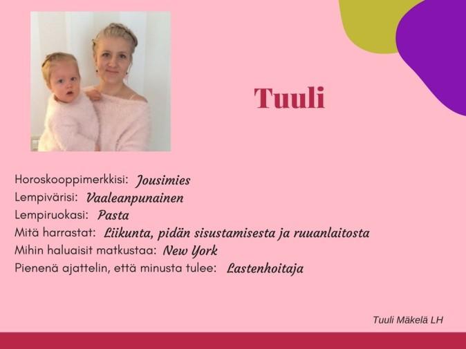 Päiväkoti Hiidenkivi Tampere Tuuli
