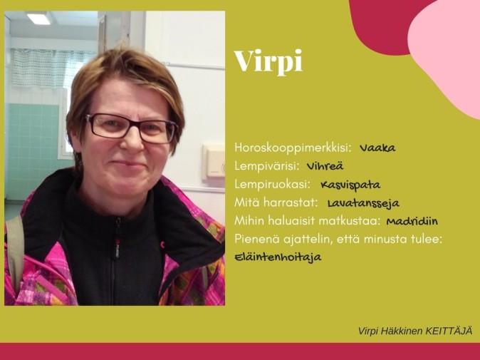 Päiväkoti Hiidenkivi Tampere Virpi